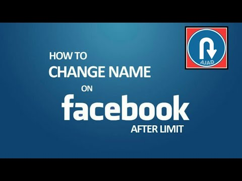 How to change Facebook profile name# FB profile name kaise change Kare#