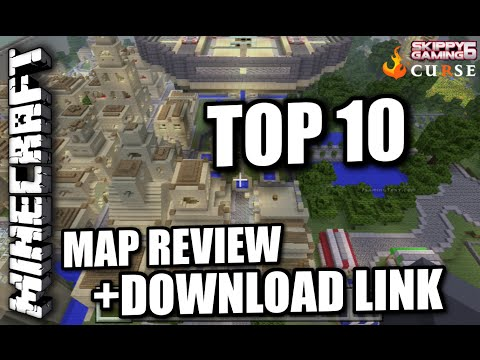 MINECRAFT - PS3 - TOP TEN MAP REVIEWS + DOWNLOAD LINKS ( PS4 )