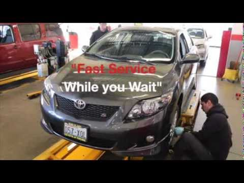 Quick Lube and Oil Services at Toyota of Yakima.