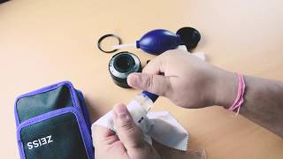 Lens Cleaning Tutorial   How to get Sharp Images   Hindi
