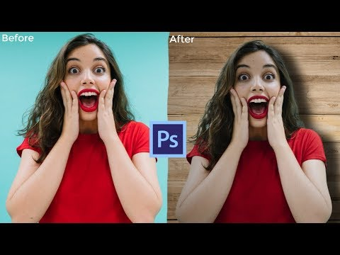 How to Change Background in Photoshop CC