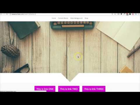 Interactive Links (Tesseract Designer Theme)