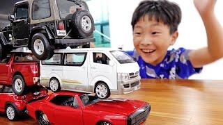 예준이의 자동차 장난감 개봉놀이 게임 플레이 트럭놀이 Car Toys Pretend Play with Game Play