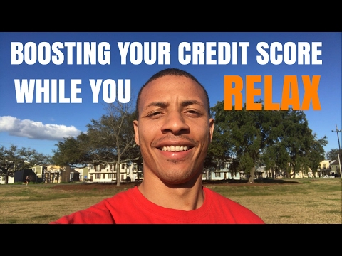 Relaxing While You Get Out of Debt and Increase Your Credit Score
