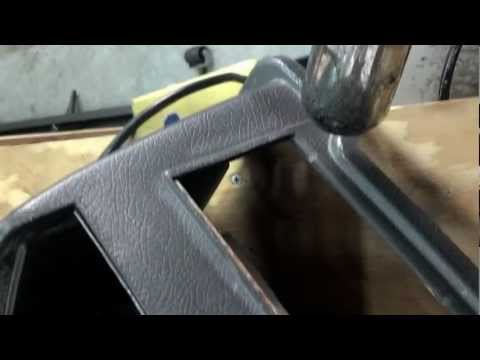 How to restore automotive plastic with a heat gun