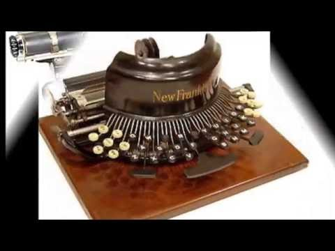 The Old Typewriter - The Old camera - The Old cars - The Old telephones