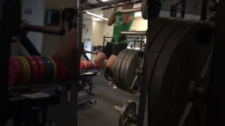 Weighted Chin Up 170 lbs bodyweight + 60 lbs - 7/13/17