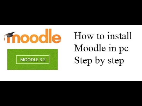 How to install moodle on Windows Step by step