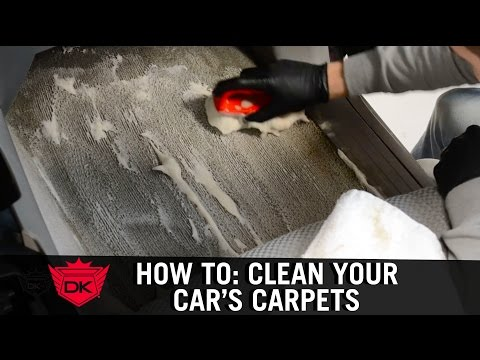 How To Clean Your Car's Carpets at Home