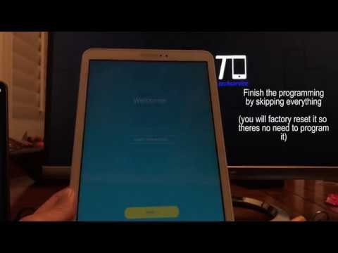 How to remove FRP Google Account on Samsung TAB A