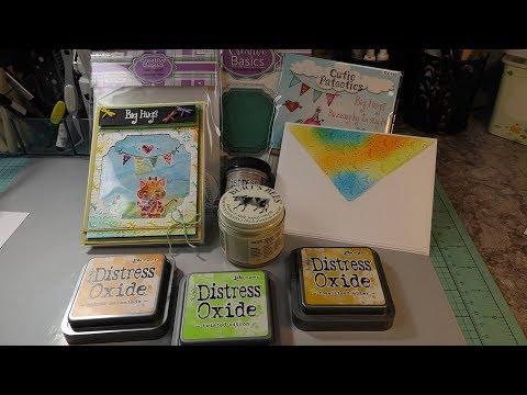 LDRS Creative  (Big Hugs) Card/Envelope FUN Glaze or Burt's Bees?