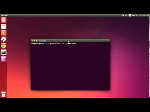 install latest blender and create a launcher in Ubuntu 14.10/14.04