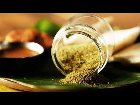 Curry Leaves Powder - Powder Chutney - How to make Powder Chutney