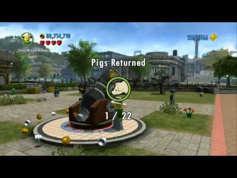 LEGO City Undercover - All 22 Pigs Returned