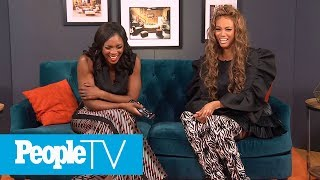 Tyra Banks Had To Shoot Her 'Higher Learning' Sex Scene On Her First Day | PeopleTV