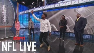 Jarvis Landry And Damon Harrison Show Off Their Best Touchdown Celebrations | NFL Live | ESPN