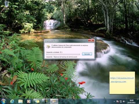 Eliminando arquivos de backup do Windows 7 SP1