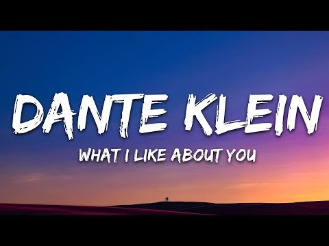 Dante Klein & Jantine - what i like about u 🎵 (Lyrics)