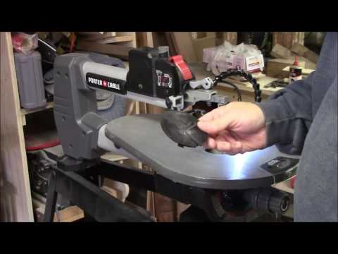 Porter Cable 18 inch Scroll Saw Review