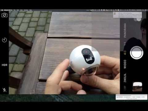 Connect the Samsung Gear 360 to the iPhone iOS