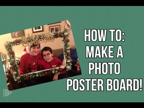 How to: Make a Photo Booth Props | Vlogmas #4