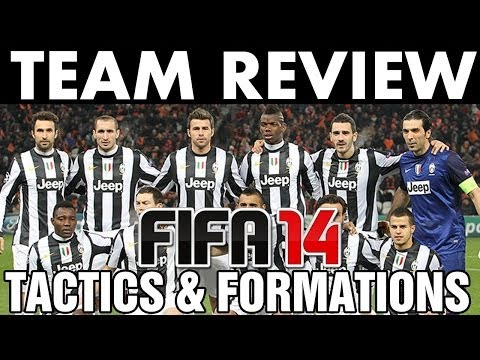 FIFA 14 | Team Review | Juventus FC Tactics / Formations (H2H Season) Best Full Guide