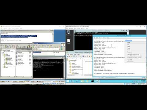 Fast - Export AD users from Server 2003 and import to Server 2012 in cmd