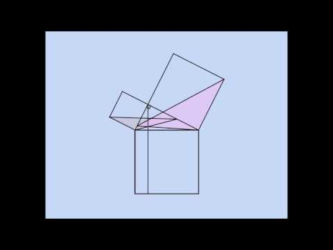 Euclid' Proof of the Pythagorean Theorem