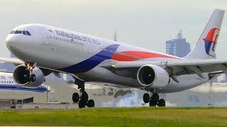 Which Airline Lands The Airbus A330 The BEST?   Melbourne Airport Plane Spotting