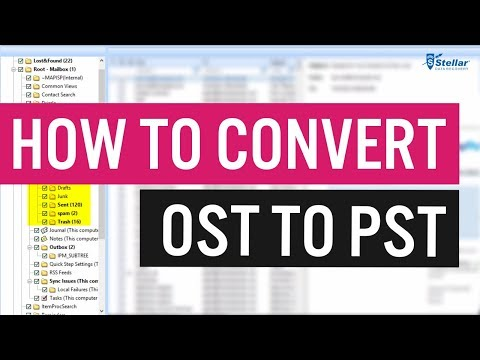 How To Convert OST to PST Tutorial