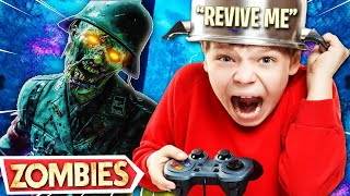 TROLLING THE WORST PLAYER ON COLD WAR ZOMBIES! (Cold War Zombies Trolling)