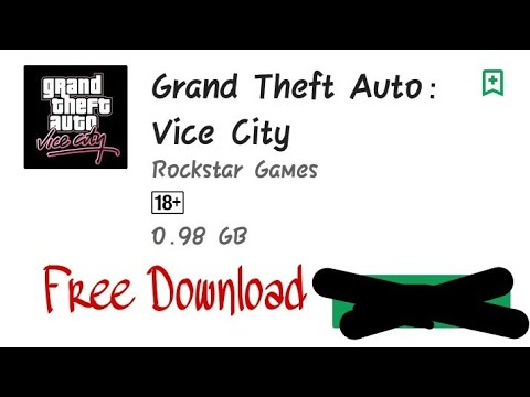 How to download Gta vice city In Android Device Easily (Hindi/urdu) by Gaming zonee