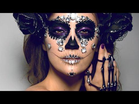 DIAMOND SUGAR SKULL Makeup Tutorial! | ORIGINAL LOOK