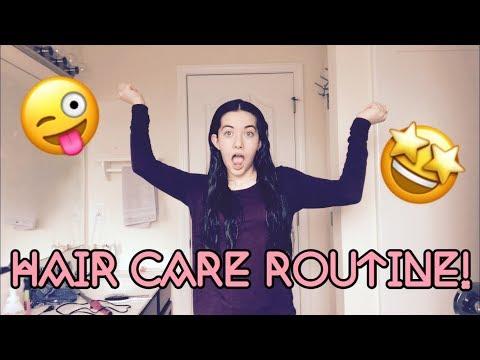 Hair Care Routine!!//Thick Hair Diaries 2