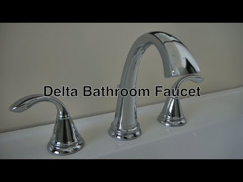 Delta Bathroom Faucets 3-Hole Widespread + No Leaky Water Warranty & Repair Replacement Parts Info