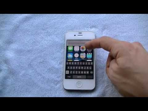 iPhone 4 running iOS 7 Beta 2 Hands on