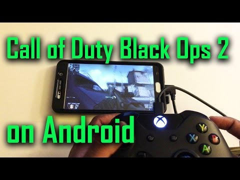 Call Of Duty Black Ops 2 on Android(Nvidia Gamestream)
