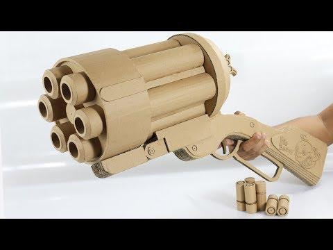 Amazing Big Baby Gun | How To Make Cardboard Gun Shoots