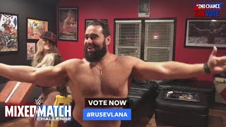 Rusev & Lana imitate Big E & Carmella during WWE MMC Second Chance Vote