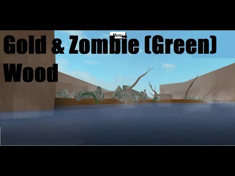 How to Get Gold & Zombie Wood | Lumber Tycoon 2 (Roblox)