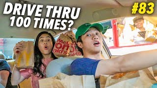 GOING TO THE SAME DRIVE THRU 100 TIMES?!   Ranz and Niana