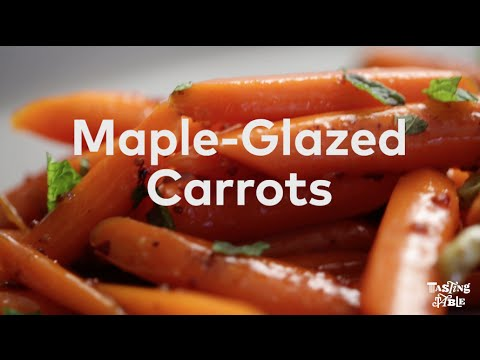Maple-Glazed Carrots | Cooking | Tasting Table