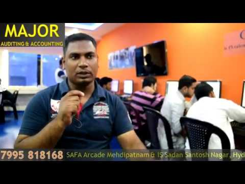 Major Accounting - Mr. Salman International Experienced Accountant Review After Course Completation