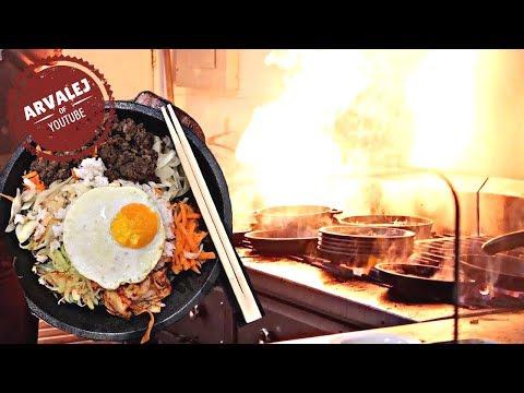 FIRE IN THE KITCHEN | Korean Food Bibimbap Cebu Philippines