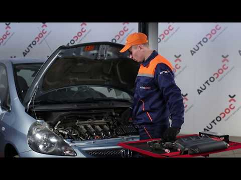 How to replace ignition coils on HONDA JAZZ 2 [TUTORIAL]