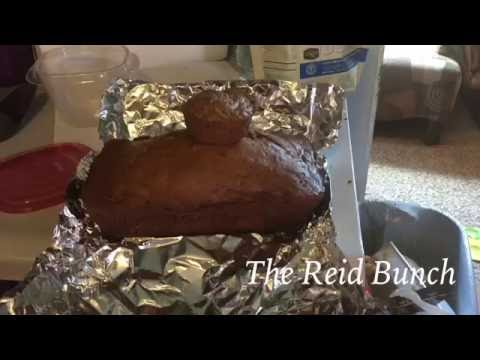 Weight Watcher Friendly Zucchini Bread|Cooking With Kids| The Reid Bunch
