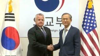 South Korean, Japanese, US diplomats hold talks on DPRK