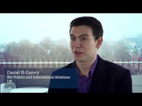 Alumni Inspiration: Daniel El Gamry, BSc Politics and International Relations, UK