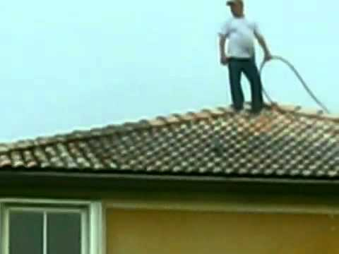Roof tiles Pressure cleaning