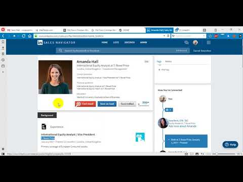 LinkedIn Sales profile to Public profile